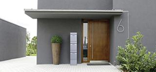 elektronische briefk sten f r ein und mehrfamilienh user. Black Bedroom Furniture Sets. Home Design Ideas